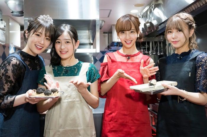 (左から)高山一実、向井葉月、佐藤楓、川後陽菜(C)「NOGIBINGO!10」製作委員会