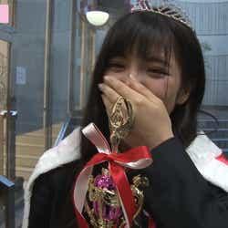 グランプリに思わず涙/画像:「女子高生ミスコンFINALIST~ハレトキドキJK~」より