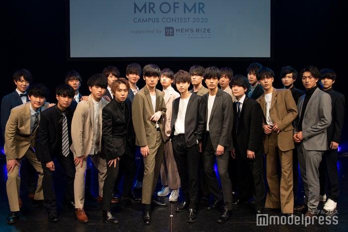 「MR OF MR CAMPUS CONTEST 2020」ファイナリスト(C)モデルプレス