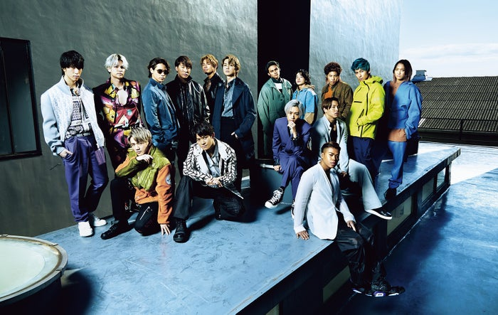 THE RAMPAGE from EXILE TRIBE/「月刊EXILE」4月号より(LDH、2月27日発売)(画像提供:LDH)