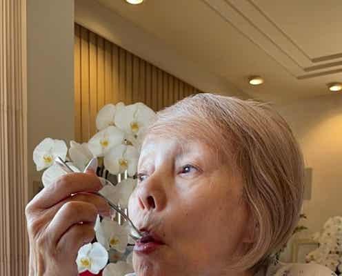 研ナオコ、夫が作ったかき氷を堪能「熱中症には気をつけましょうね」