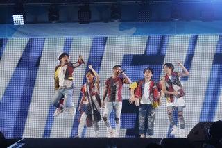 Da-iCE、圧倒的歌声&パワフルパフォーマンスで魅了 ドリカム「大阪LOVER」カバーも<a-nation>