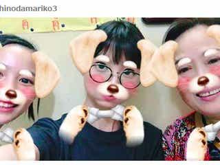 能年玲奈&篠田麻里子らの異色3ショットに反響「じぇじぇじぇ!」「レアなメンツ」