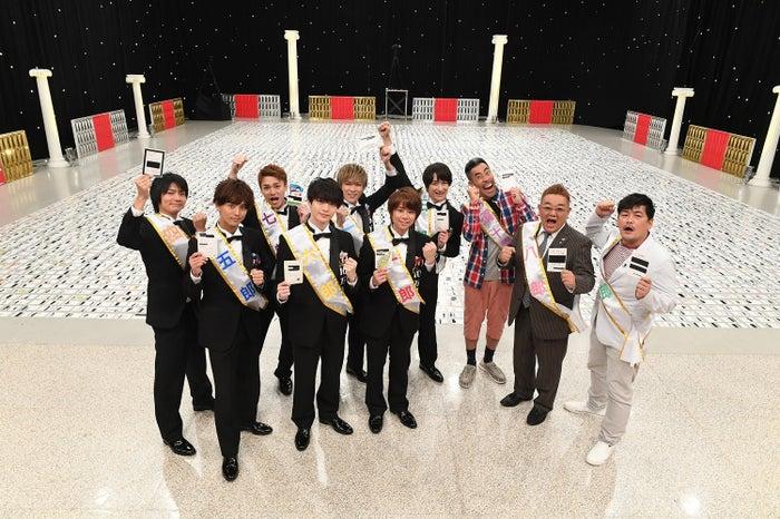 Kis-My-Ft2、なすび、サンドウィッチマン (C)テレビ朝日