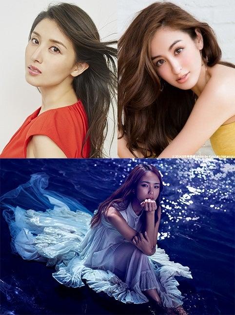 「神戸コレクション2017 SPRING/SUMMER」出演発表(上段左から:橋本マナミ、オードリー亜谷香 下段:Leola)/(提供写真)