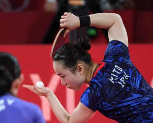 【卓球】中国で〝伊藤美誠ブーム〟 鍋やうちわでひらひらサーブモーションものまね