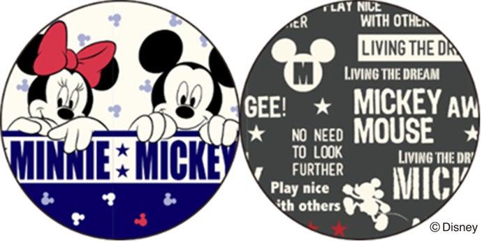 左:ラブリーミッキー&ミニー、右:アメリカンミッキー
