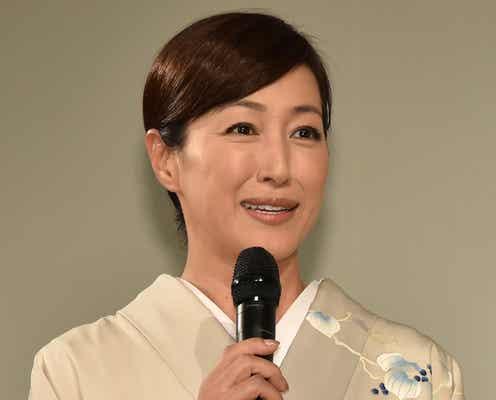 高島礼子、離婚後初の公の場に登場