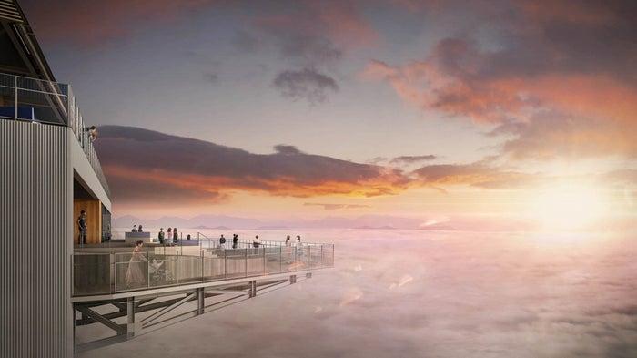 雲海テラスリニューアルイメージ/画像提供:星野リゾート
