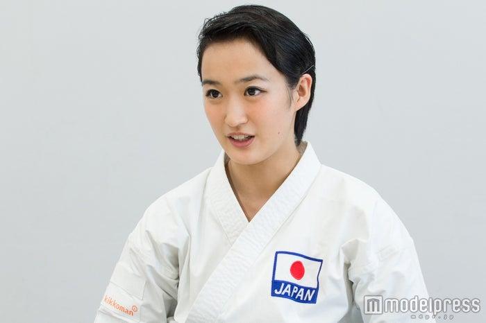 東京2020オリンピックへの思いを熱弁(C)モデルプレス