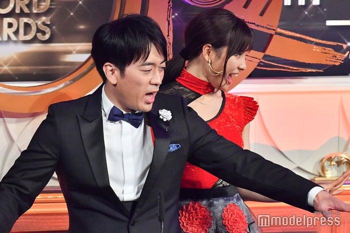 安住紳一郎TBSアナウンサー、土屋太鳳 (C)モデルプレス
