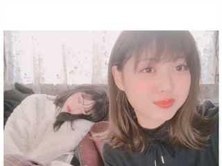 鈴木愛理の寝顔を松元絵里花が隠し撮り「可愛すぎる」「天使」と反響