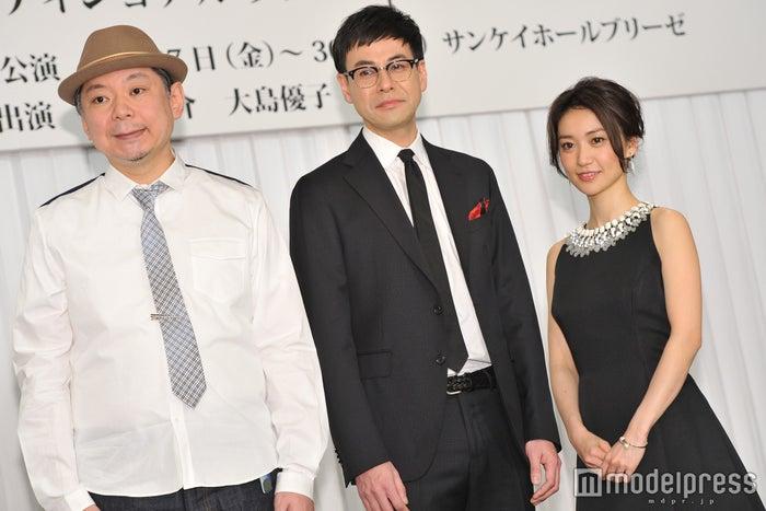 (左から)鈴木おさむ氏、鈴木浩介、大島優子(C)モデルプレス