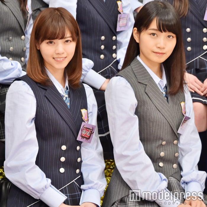 乃木坂46の秘密を暴く/写真左から:西野七瀬、深川麻衣(C)モデルプレス
