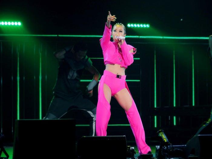倖田來未、全国コンサートツアーをスタート(提供写真)
