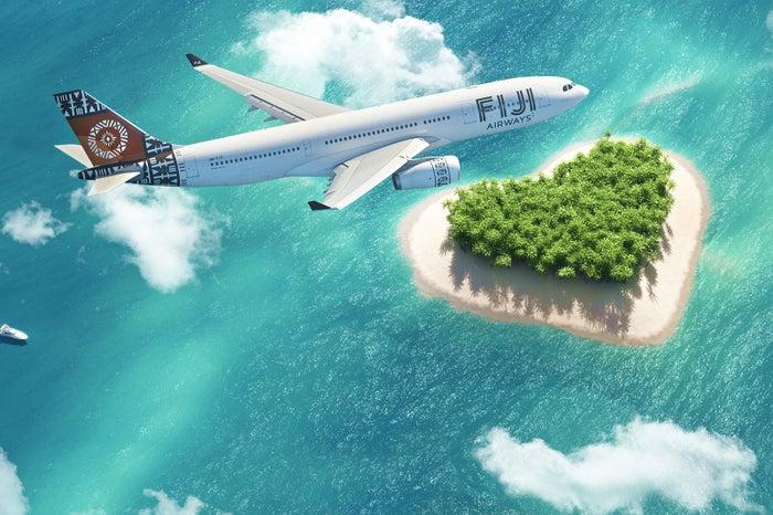 フィジーエアウェイズで行く空の旅/写真提供:フィジーエアウェイズ