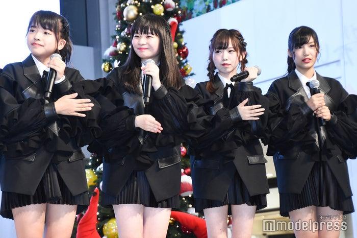 ラストアイドル2期生/山本琉愛、延命杏咲実、畑美紗起、栗田麻央 (C)モデルプレス