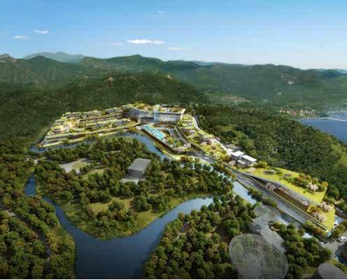 「ホテルオークラ上海シェシャン」2024年開業、四季折々の自然に溶けこむリゾートホテル