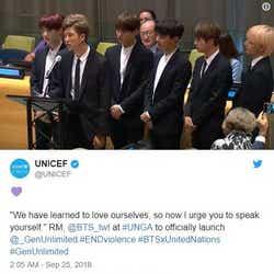 モデルプレス - BTS(防弾少年団)国連スピーチ全文「肌の色やジェンダーに関係なく、自分を語って」
