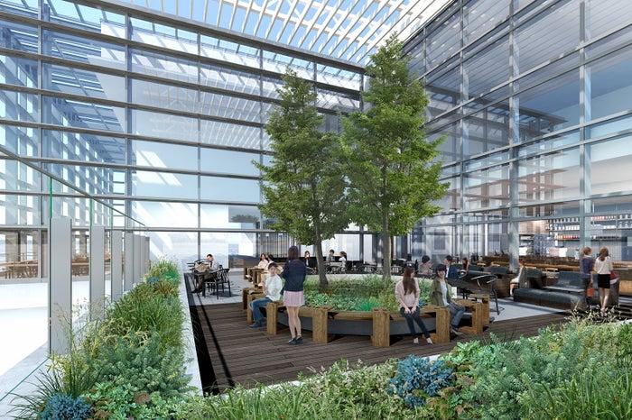 スターバックス コーヒー 名古屋JRゲートタワー店 テラス席/画像提供:スターバックス コーヒー ジャパン