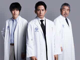 V6岡田准一主演「白い巨塔」松山ケンイチら豪華共演者発表<本人コメント>
