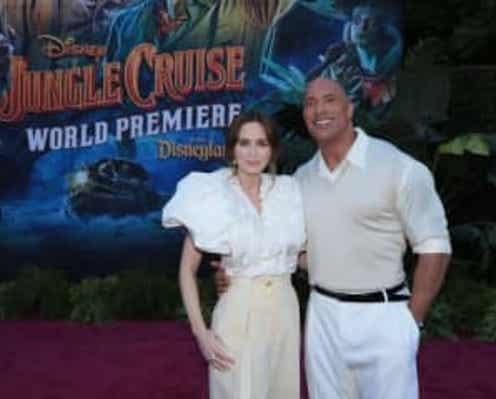 ドウェイン・ジョンソン&エミリー・ブラントも感激 『ジャングル・クルーズ』ディズニーランドでプレミア開催