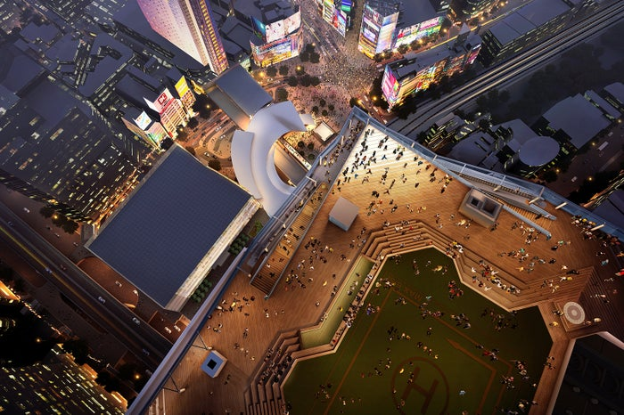 SHIBUYA SKY/画像提供:東京急行電鉄