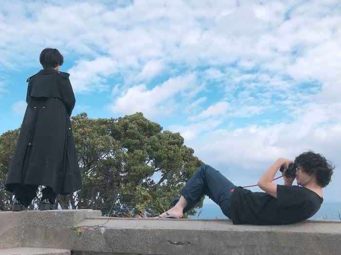 板垣李光人「Rihito 18」よりオフショット/安藤政信撮影(C)SDP