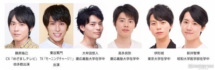 (左から)藤原倫己、東谷篤門、大牟田悠人、高多良弥、伊形城、新井智博
