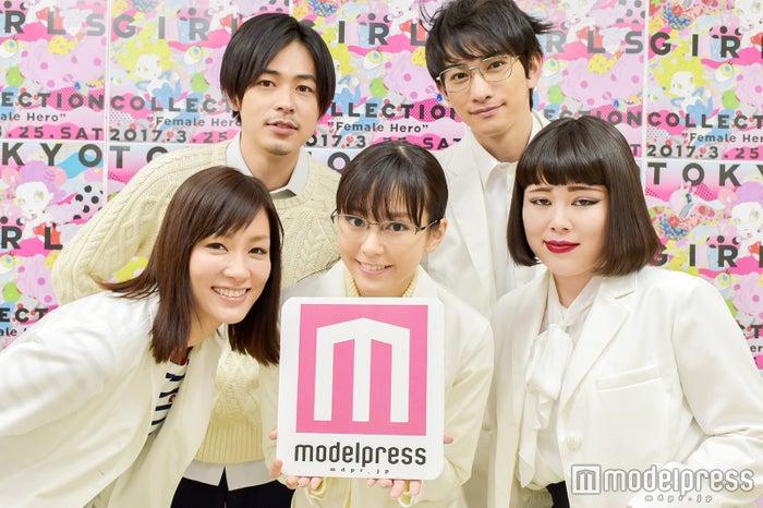 (下段左から)水川あさみ、桐谷美玲、ブルゾンちえみ(上段左から)成田凌、町田啓太(C)モデルプレス