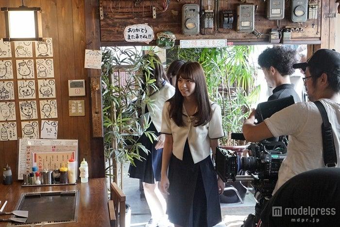 連続ドラマ初主演でクランクインした乃木坂46/(C)「初森ベマーズ」製作委員会