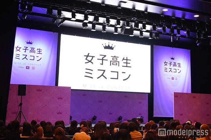 「女子高生ミスコン2015-2016 全国ファイナル審査」(C)モデルプレス