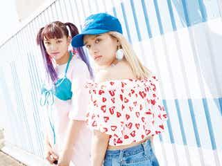 E-girls須田アンナ&YURINO、肌見せが眩しい 新体制後の変化明かす