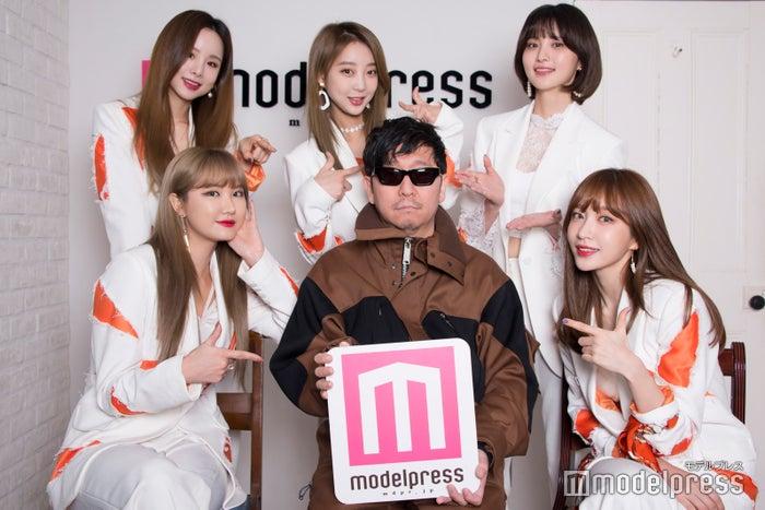 (左上から)ソルジ、ヘリン、ジョンファ、LE、☆Taku、ハニ(C)モデルプレス