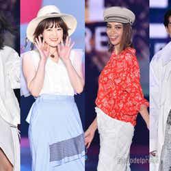 モデルプレス - 滝沢カレン・山本舞香・kemioら競演 筧美和子の色白ボディにもうっとり