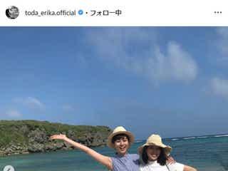 戸田恵梨香&比嘉愛未、沖縄満喫ショットに「コード・ブルー」ファン歓喜