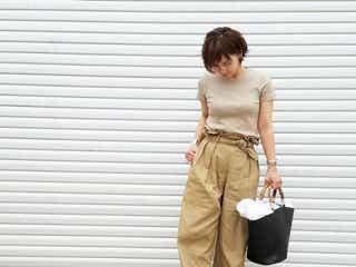 """初夏のオフィスコーデはあえてのこっくりカラー""""キャメル&ベージュ系""""で差がつく!"""