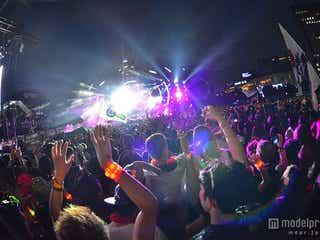 Afrojack「ULTRA JAPAN」でサプライズ 満員の会場で迫力のプレイ