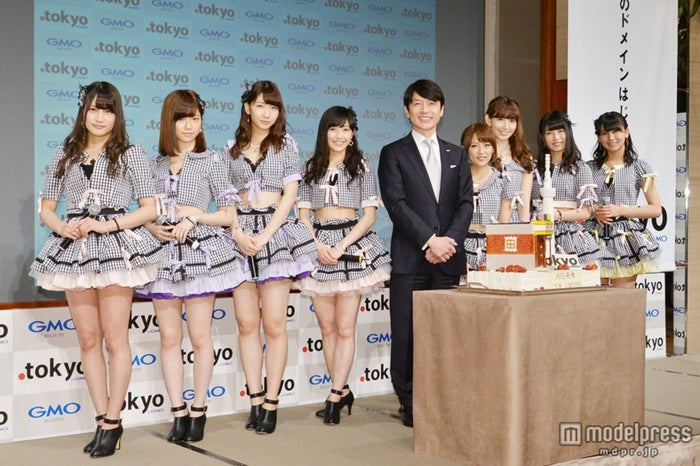 東京ドメイン「.tokyo」の開始を記念した記者発表会の模様