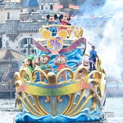 ディズニーシー、新水上グリーティングで35周年をお祝い<ハピエストセレブレーション・オン・ザ・シー>