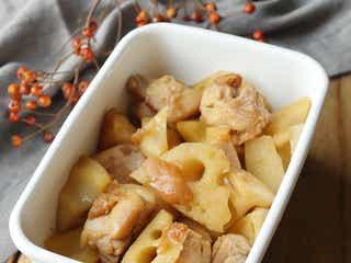 【作り置きレシピ】旨味引き立つ。「鶏もも肉とれんこんの梅煮」