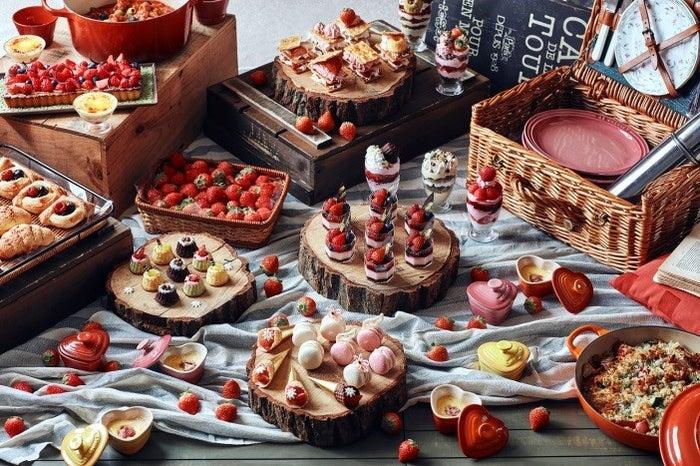 苺&ランチブッフェ 森のストロベリーピクニック/画像提供:藤田観光