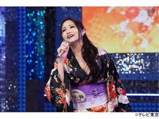声優界のセクシーダイナマイト・たかはし智秋、はだけた着物姿で熱唱