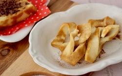 カリポリ新食感! 栄養豊富な手づくりおやつ「高野豆腐ラスク」