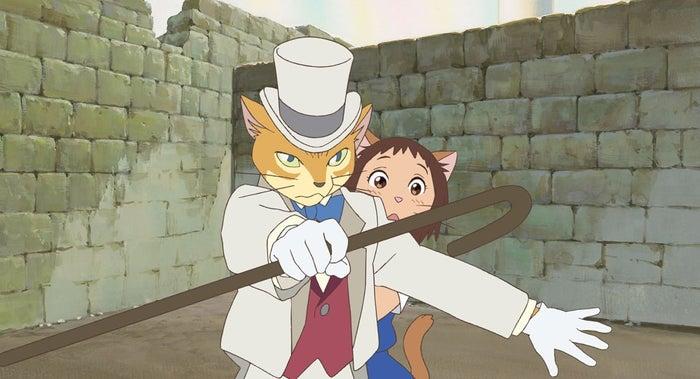 「猫の恩返し」のワンシーン(C)2002 猫乃手堂・Studio Ghibli・NDHMT