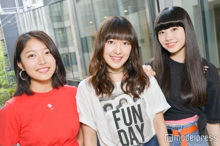 NYも湧かせたJ☆Dee'Z(ジェイディーズ)のダンス&生歌に驚愕!現役女子高生の素顔に迫る (左から)Nono、ami、MOMOKA (C)モデルプレス