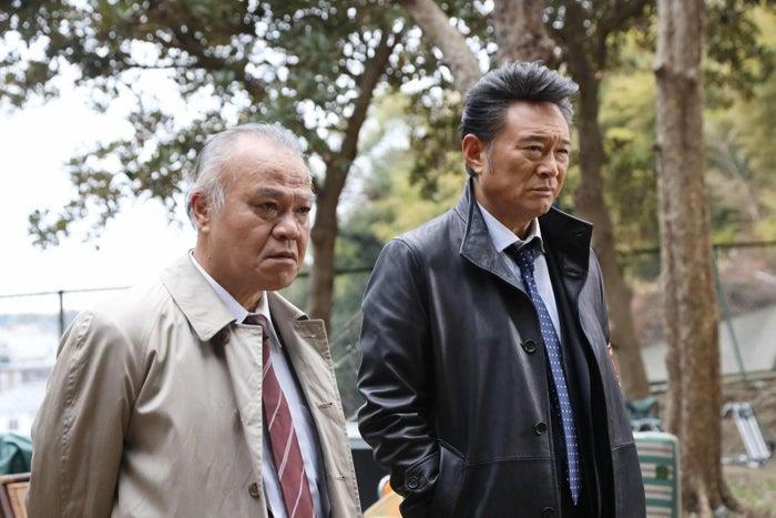 大地康雄・船越英一郎/「トレース~科捜研の男~」第3話より(C)フジテレビ