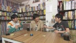 (左から)安住紳一郎アナ、木村拓哉、二宮和也(C)TBS