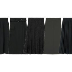 上品&高見え!今欲しいGU優秀「黒スカート」♡