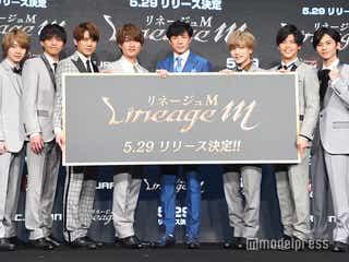 """ジャニーズJr.""""7 MEN 侍""""、CM初挑戦でド緊張 大先輩・東山紀之はグループ名に驚き「ジャニーさんの大技が出た」"""